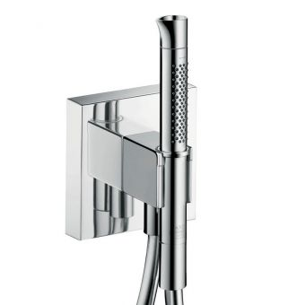 AXOR Starck Organic Hand Shower with Integrated Wall Outlet