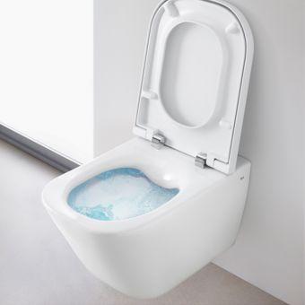 Roca The Gap Wall Hung CleanRim Toilet - 34647L000