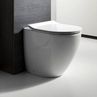 Bauhaus Svelte Back to Wall Toilet