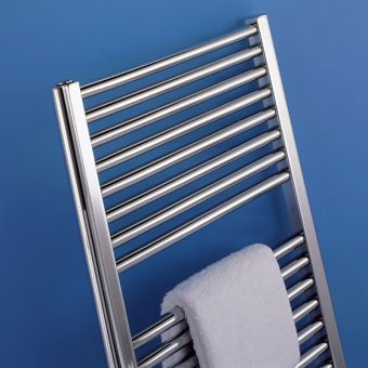 Bisque Deline Electric Towel Radiator