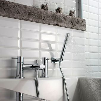 Low Pressure Thermostatic Bath Shower Mixer bath shower mixer taps wall & deck mounted from roca & more : uk