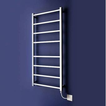 Bisque Gio Electric Stainless Steel Towel Rail