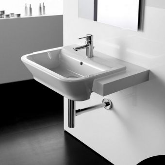 Roca The Gap Semi Recessed Basin 560mm