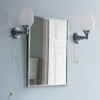 Burlington Edwardian Single Elliptical Wall Light - T52