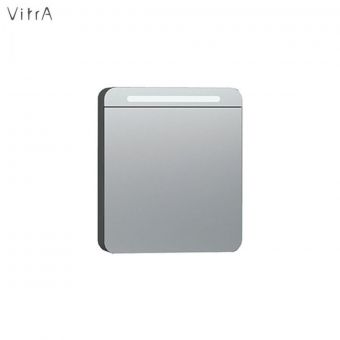 Vitra Nest Single Door 60cm Mirror Cabinet with LED Lighting