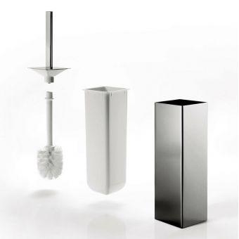 Inda New Europe Toilet Brush & Holder - AV114ACR