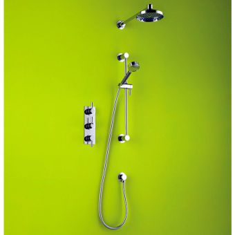 Matki Swadling Absolute Twin Outlet Thermostatic Dual Showering Kit 2215