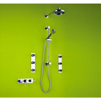 Matki Swadling Absolute Thermostatic Shower Kit With Body Jets 2221