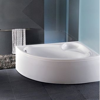 Carron Dove 1550 x 950mm Offset Corner Bath