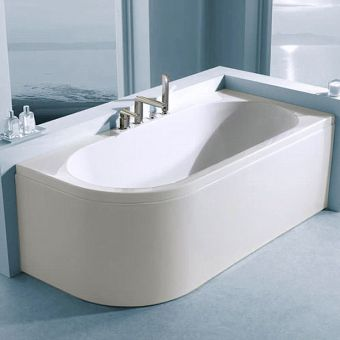 Carron Status Duo Offset Curved Bath
