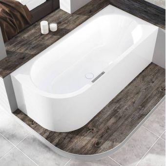 Kaldewei Centro Duo 1 Steel Corner Bath