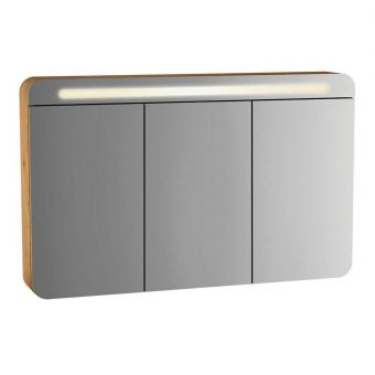 Vitra Sento 3 Door Illuminated Mirror Cabinet