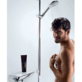 Hansgrohe Ecostat Select with Raindance E 120 3jet Hand Shower