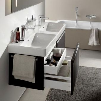Laufen PRO S Double Basin Vanity Unit with 2 Drawers