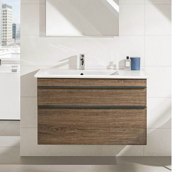 Villeroy & Boch Venticello 2 Drawer Vanity Unit