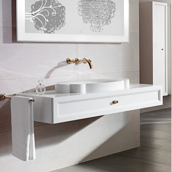 V & B La Belle 850mm Countertop Washbasin 6137 85R1