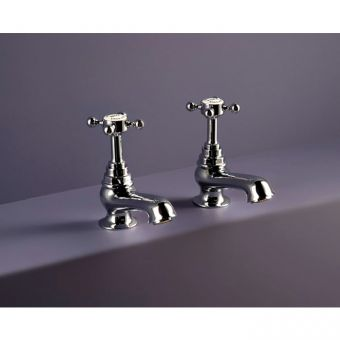 "Swadling Invincible Concealed 1/2"" Cross Head Basin Taps 2601"
