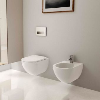 Geberit Acanto Wall-hung Rimfree Washdown Toilet