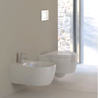 Geberit Icon Round Wall-hung Bidet
