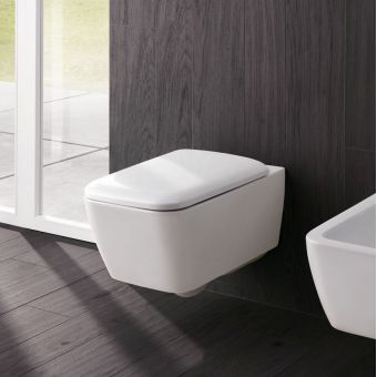 Geberit iCon Square Rimfree Wall-hung Toilet