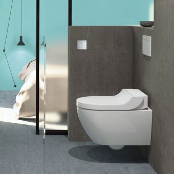 Geberit Aquaclean Tuma Rimless Wall Hung Shower Toilet