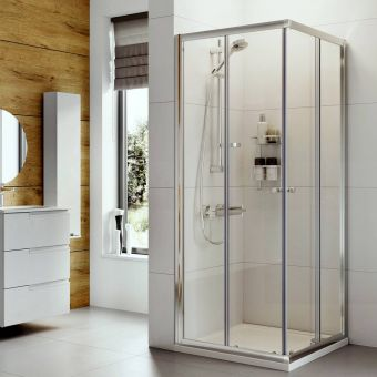 Roman Haven Corner Entry Shower Enclosure