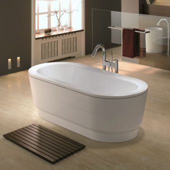 Kaldewei Classic Duo Oval Wide Steel Bath