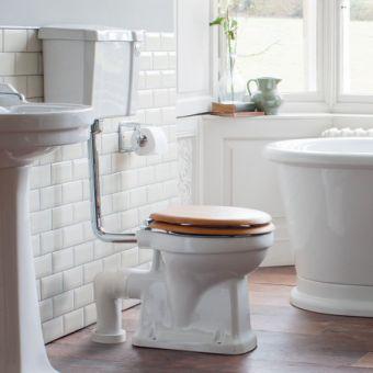 Burlington Slimline Low Level WC (440mm)