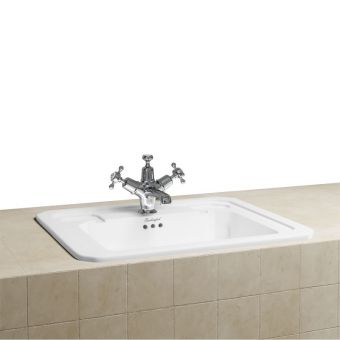 Burlington Victorian Semi-Inset Countertop Basin