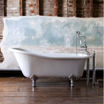 Burlington Harewood 1700mm Freestanding Slipper Bath - E1