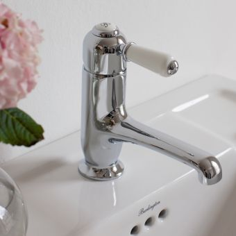 Burlington Chelsea Straight Spout Monobloc Mixer Tap