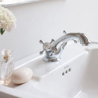 Burlington Stafford Bathroom Basin Mixer Tap