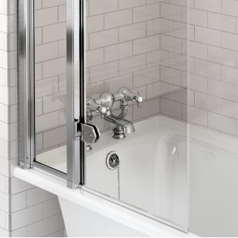 Burlington Claremont Regent Deck Mounted Bath Filler