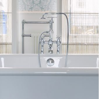 Burlington Birkenhead Deck Mounted Bath/Shower Mixer