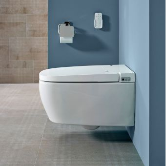Vitra V Care Essential Intelligent Rimless Toilet