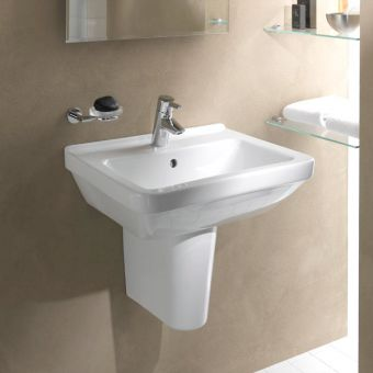 Vitra S50 Large Square Bathroom Basin - 5460WH