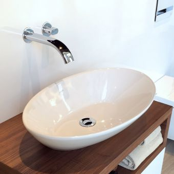 Vitra Options Geo Ellipse Countertop Basin