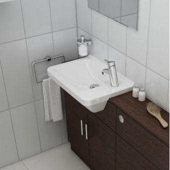 Vitra S50 Compact Square Semi-Recessed Basin