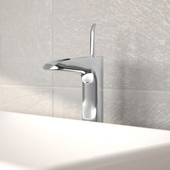 Vitra T4 Waterfall Basin Mixer