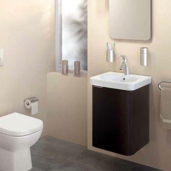 Vitra Nest Wall Hung Cloakroom Unit and Basin