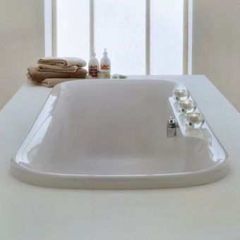 Adamsez Essence Inset Bath, with ledge ESI