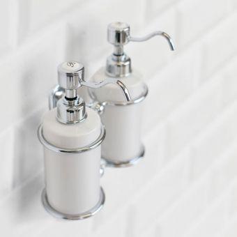 Burlington Traditional Double Liquid Soap Dispenser - A20CHR