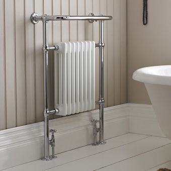 Burlington Trafalgar Towel Warming Radiator Set