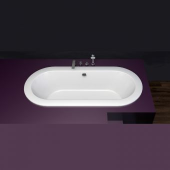 Bette Starlet Oval Steel Bath