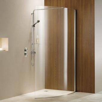 Matki Curved Wet Room Shower Panel