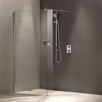 Matki Wet Room Walk-in Shower Panel