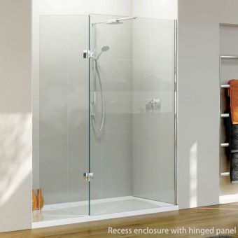 Matki Boutique Walk-In Recess Walk-in Shower Enclosure