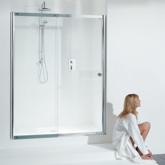 Matki Colonade Straight Sliding Shower Door