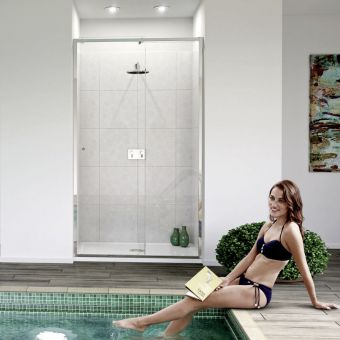 Matki-ONE Slider Recess Shower Screen