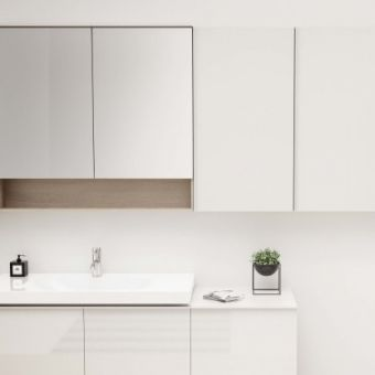 Geberit Acanto 45cm High-level Cabinet